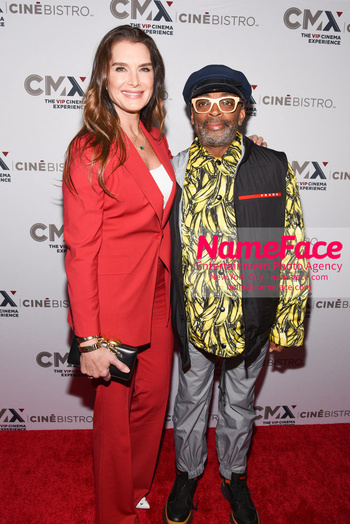 Opening of the CMX CineBistro - The VIP Cinema Experience Brooke Shields and Spike Lee - NameFace Photo Agency New York City - hello@nameface.com - nameface.com - Photo by Daniela Kirsch