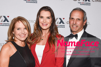 Opening of the CMX CineBistro - The VIP Cinema Experience Katie Couric, Brooke Shields and John Molner - NameFace Photo Agency New York City - hello@nameface.com - nameface.com - Photo by Daniela Kirsch