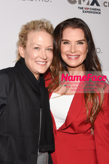 Opening of the CMX CineBistro - The VIP Cinema Experience Nancy Jarecki and Brooke Shields - NameFace Photo Agency New York City - hello@nameface.com - nameface.com - Photo by Daniela Kirsch