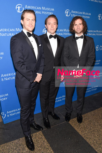 American Museum of Natural History Gala 2018, Arrivals Alex Moffat, Beck Bennett and Kyle Mooney - NameFace Photo Agency New York City - hello@nameface.com - nameface.com - Photo by Daniela Kirsch
