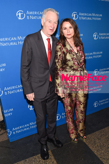 American Museum of Natural History Gala 2018, Arrivals John McEnroe and Patty Smyth McEnroe - NameFace Photo Agency New York City - hello@nameface.com - nameface.com - Photo by Daniela Kirsch