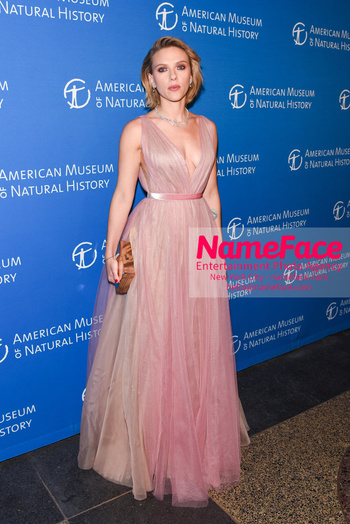 American Museum of Natural History Gala 2018, Arrivals Scarlett Johansson - NameFace Photo Agency New York City - hello@nameface.com - nameface.com - Photo by Daniela Kirsch