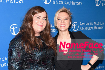 American Museum of Natural History Gala 2018, Arrivals Aidy Bryant and Kate McKinnon - NameFace Photo Agency New York City - hello@nameface.com - nameface.com - Photo by Daniela Kirsch