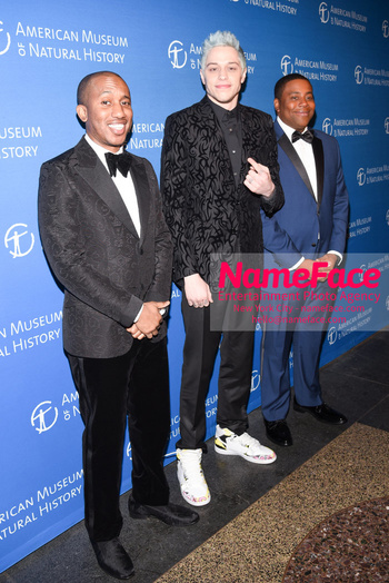 American Museum of Natural History Gala 2018, Arrivals Pete Davidson and Kenan Thompson - NameFace Photo Agency New York City - hello@nameface.com - nameface.com - Photo by Daniela Kirsch