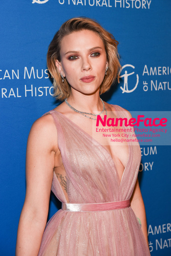 American Museum of Natural History Gala 2018, Arrivals Scarlett Johansson - NameFace Photo Agency New York City - hello@nameface.com - nameface.com - Photo by Daniela Kirsch