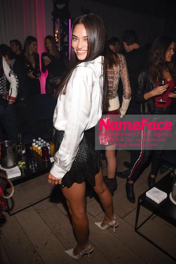 LuisaViaRoma Opening Party Shanina Shaik - NameFace Photo Agency New York City - hello@nameface.com - nameface.com - Photo by Daniela Kirsch