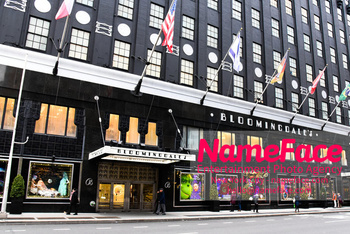 Christmas Holiday Windows in NYC Bloomingdales - NameFace Photo Agency New York City - hello@nameface.com - nameface.com - Photo by Daniela Kirsch