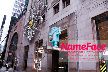 Christmas Holiday Windows in NYC Tiffanys - NameFace Photo Agency New York City - hello@nameface.com - nameface.com - Photo by Daniela Kirsch