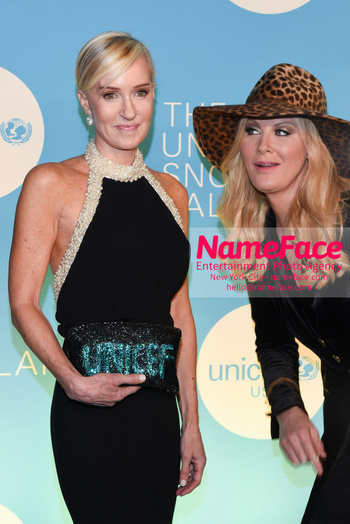 14th Annual UNICEF Snowflake Ball Hilary Gumbel and Sandra Lee - NameFace Photo Agency New York City - hello@nameface.com - nameface.com - Photo by Daniela Kirsch