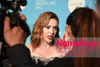 14th Annual UNICEF Snowflake Ball Alyssa Milano - NameFace Photo Agency New York City - hello@nameface.com - nameface.com - Photo by Daniela Kirsch