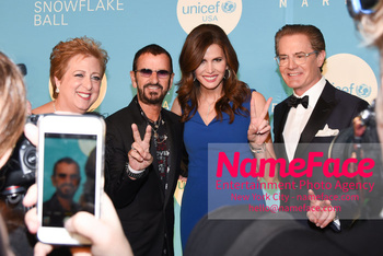 14th Annual UNICEF Snowflake Ball Caryl Stern, Ringo Starr, Desiree Gruber and Kyle MacLachlan - NameFace Photo Agency New York City - hello@nameface.com - nameface.com - Photo by Daniela Kirsch