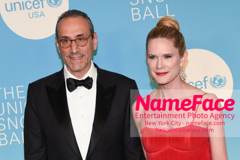 14th Annual UNICEF Snowflake Ball Dan Benton and Stephanie March - NameFace Photo Agency New York City - hello@nameface.com - nameface.com - Photo by Daniela Kirsch