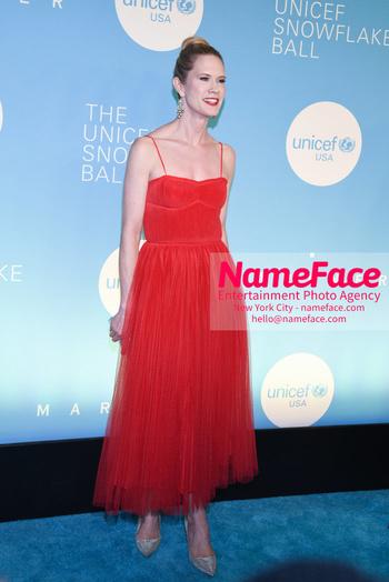 14th Annual UNICEF Snowflake Ball Stephanie March - NameFace Photo Agency New York City - hello@nameface.com - nameface.com - Photo by Daniela Kirsch