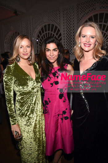 The Museum Of The Moving Image Salute 2018 Coralie Charriol Paul and Pegah Easton and Abigail Baratta - NameFace Photo Agency New York City - hello@nameface.com - nameface.com - Photo by Daniela Kirsch