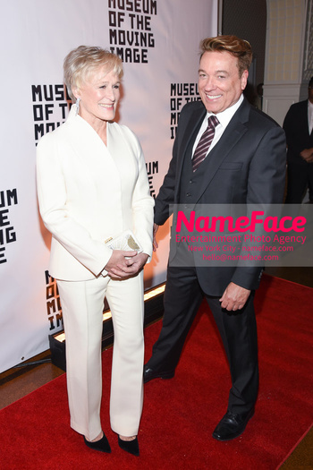 The Museum Of The Moving Image Salute 2018 Glenn Close and Kevin Huvane - NameFace Photo Agency New York City - hello@nameface.com - nameface.com - Photo by Daniela Kirsch