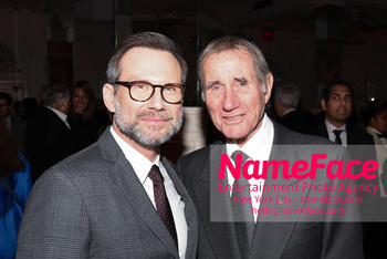 The Museum Of The Moving Image Salute 2018 Christian Slater and Jim Dale - NameFace Photo Agency New York City - hello@nameface.com - nameface.com - Photo by Daniela Kirsch