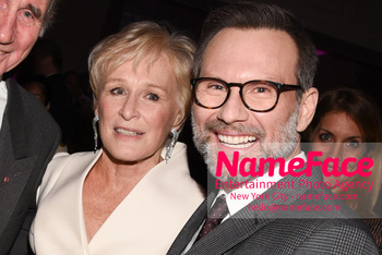 The Museum Of The Moving Image Salute 2018 Glenn Close and Christian Slater - NameFace Photo Agency New York City - hello@nameface.com - nameface.com - Photo by Daniela Kirsch