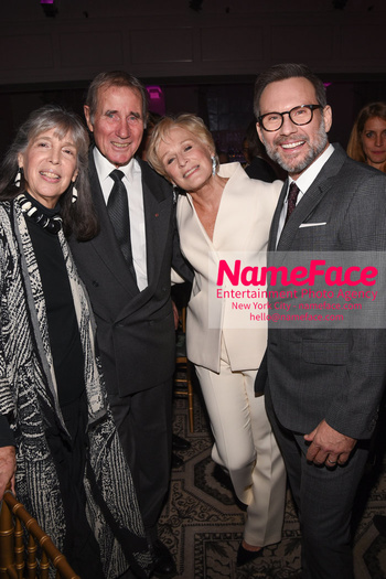 The Museum Of The Moving Image Salute 2018 Jim Dale, Glenn Close and Christian Slater - NameFace Photo Agency New York City - hello@nameface.com - nameface.com - Photo by Daniela Kirsch