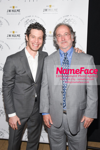 New York Stage & Film 2018 Winter Gala Tommy Kail and Mark Linn-Baker - NameFace Photo Agency New York City - hello@nameface.com - nameface.com - Photo by Daniela Kirsch