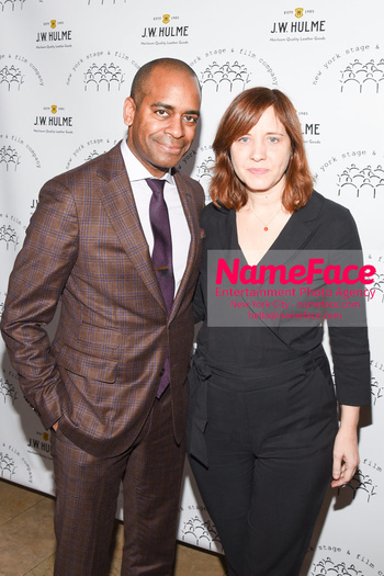 New York Stage & Film 2018 Winter Gala Daniel Breaker and Kate Whoriskey - NameFace Photo Agency New York City - hello@nameface.com - nameface.com - Photo by Daniela Kirsch