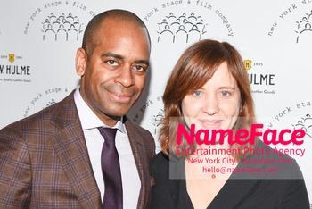New York Stage & Film 2018 Winter Gala Daniel Breaker and Kate Whoriskey - NameFace Photo Agency New York City - hello@nameface.com - nameface.com - Photo by Daniela Kirsch