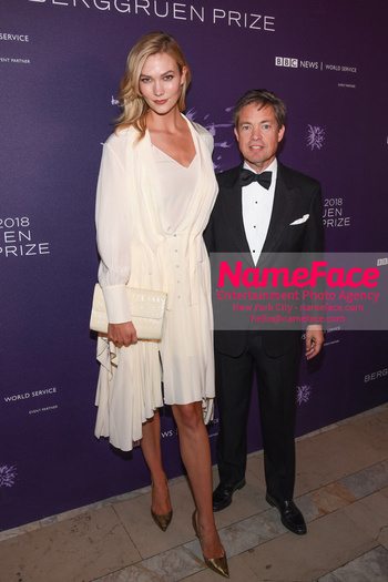 Berggruen Prize Gala 2018 Karlie Kloss and Nicolas Berggruen - NameFace Photo Agency New York City - hello@nameface.com - nameface.com - Photo by Daniela Kirsch