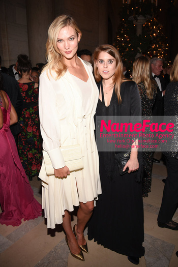 Berggruen Prize Gala 2018 Karlie Kloss and Princess Beatrice of York - NameFace Photo Agency New York City - hello@nameface.com - nameface.com - Photo by Daniela Kirsch