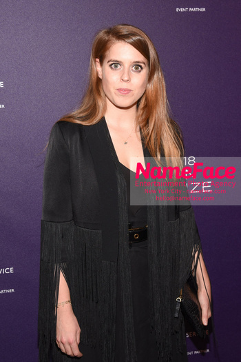 Berggruen Prize Gala 2018 Princess Beatrice of York - NameFace Photo Agency New York City - hello@nameface.com - nameface.com - Photo by Daniela Kirsch