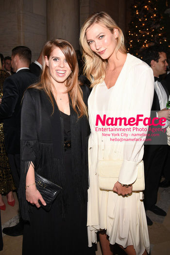 Berggruen Prize Gala 2018 Princess Beatrice of York and Karlie Kloss - NameFace Photo Agency New York City - hello@nameface.com - nameface.com - Photo by Daniela Kirsch