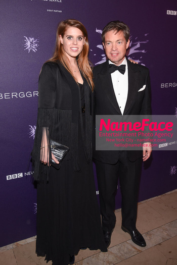 Berggruen Prize Gala 2018 Princess Beatrice of York and Nicolas Berggruen - NameFace Photo Agency New York City - hello@nameface.com - nameface.com - Photo by Daniela Kirsch