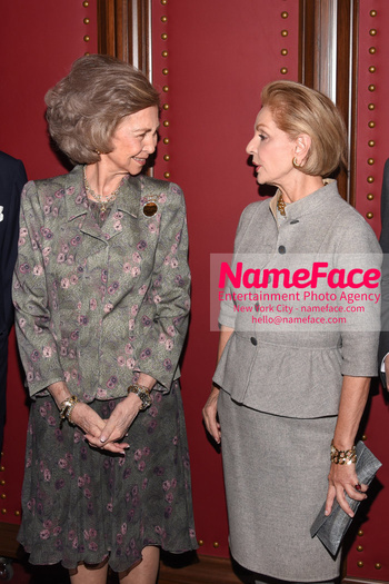 2018 Sophia Award For Excellence Queen Sofia of Spain and Carolina Herrera - NameFace Photo Agency New York City - hello@nameface.com - nameface.com - Photo by Daniela Kirsch