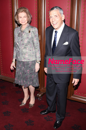 2018 Sophia Award For Excellence Queen Sofia of Spain and Fernando Aleu - NameFace Photo Agency New York City - hello@nameface.com - nameface.com - Photo by Daniela Kirsch