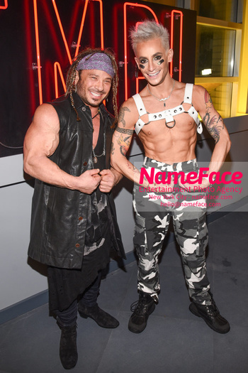 Susanne Bartsch & David Barton's Annual Toy Drive and Unveiling of TMPL West Village David Barton and Frankie Grande - NameFace Photo Agency New York City - hello@nameface.com - nameface.com - Photo by Daniela Kirsch