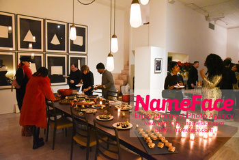 Sophie Auster x Kabinett Holiday Party Atmosphere - NameFace Photo Agency New York City - hello@nameface.com - nameface.com - Photo by Daniela Kirsch