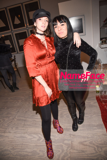 Sophie Auster x Kabinett Holiday Party Guest - NameFace Photo Agency New York City - hello@nameface.com - nameface.com - Photo by Daniela Kirsch