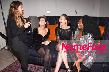 Sophie Auster x Kabinett Holiday Party Sophie Auster - NameFace Photo Agency New York City - hello@nameface.com - nameface.com - Photo by Daniela Kirsch