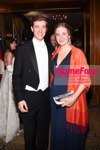 The 64th International Debutante Ball Archduke Michael of	Austria - Erzherzog Michael von Österreich and Princess Maria-Immaculata of Liechtenstein - Prinzessin Maria-Immaculata von Liechtenstein - NameFace Photo Agency New York City - hello@nameface.com - nameface.com - Photo by Daniela Kirsch