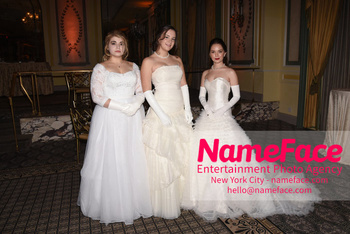 The 64th International Debutante Ball Mary Valentine Apple, Adelaide Mathilde Escaravage and Jolie Jacqueline Vanier - NameFace Photo Agency New York City - hello@nameface.com - nameface.com - Photo by Daniela Kirsch