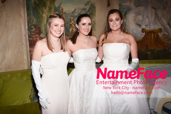 The 64th International Debutante Ball Meredith Olivia Shields, Graysen Leslie Airth and Emilia McManus - NameFace Photo Agency New York City - hello@nameface.com - nameface.com - Photo by Daniela Kirsch