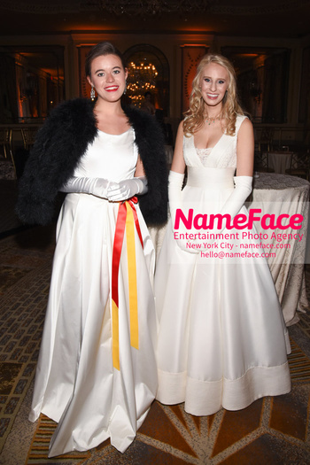 The 64th International Debutante Ball Princess Aurelia of Liechtenstein - Prinzessin Aurelia von Liechtenstein and  and Catherine Fields Coselli - NameFace Photo Agency New York City - hello@nameface.com - nameface.com - Photo by Daniela Kirsch