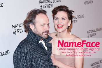 The National Board Of Review Annual Awards Gala 2019 - Arrivals Peter Sarsgaard and Maggie Gyllenhaal - NameFace Photo Agency New York City - hello@nameface.com - nameface.com - Photo by Daniela Kirsch