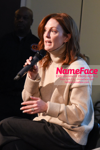 Peace Week Town Hall Julianne Moore - NameFace Photo Agency New York City - hello@nameface.com - nameface.com - Photo by Daniela Kirsch