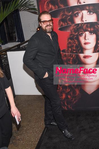 Netflix Russian Doll Season 1 Premiere - Arrivals David Harbour - NameFace Photo Agency New York City - hello@nameface.com - nameface.com - Photo by Daniela Kirsch