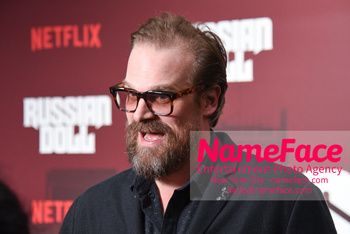 Netflix Russian Doll Season 1 Premiere - Arrivals David Harbour - NameFace Photo Agency New York City - hello@nameface.com - nameface.com - Photo by Daniela Kirsch
