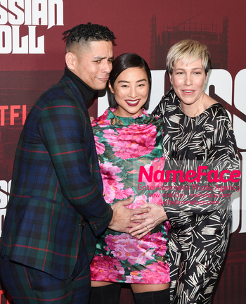 Netflix Russian Doll Season 1 Premiere - Arrivals Charlie Barnett, Greta Lee and Rebecca Henderson - NameFace Photo Agency New York City - hello@nameface.com - nameface.com - Photo by Daniela Kirsch
