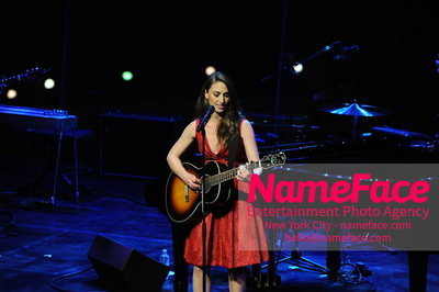 Womans Day Red Dress Awards to benefit the American Heart Associations Go Red For Women 2014 Sara Bareilles - NameFace Photo Agency New York City - hello@nameface.com - nameface.com - Photo by