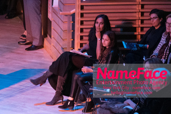 The Nearness Of You Concert: In Honor Of Michael Brecker Padma Lakshmi and Krishna Thea Lakshmi-Dell - NameFace Photo Agency New York City - hello@nameface.com - nameface.com - Photo by Daniela Kirsch