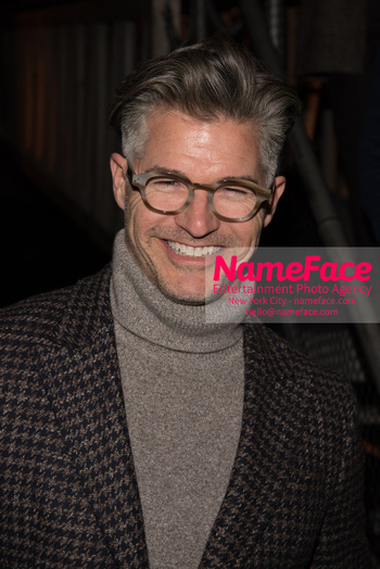 Joseph Abboud Show, Front Row, New York Fashion Week Men's Eric Rutherford - NameFace Photo Agency New York City - hello@nameface.com - nameface.com - Photo by Daniela Kirsch