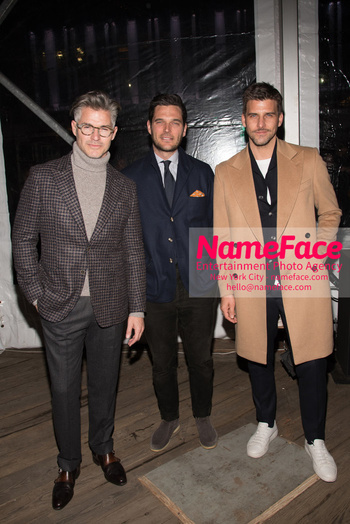 Joseph Abboud Show, Front Row, New York Fashion Week Men's