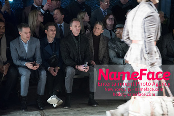 Joseph Abboud Show, Front Row, New York Fashion Week Men's Neil Patrick Harris and David Burtka - NameFace Photo Agency New York City - hello@nameface.com - nameface.com - Photo by Daniela Kirsch